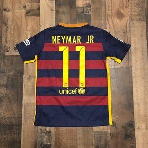 Nike Neymar JR FC Barcelona Soccer Jersey